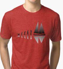 Sailing Evolution Tri-blend T-Shirt