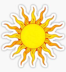 Pegatina Grunge Sun