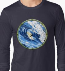 Surfing The Pipe T-Shirt