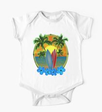Sunset And Surfboards Kids Clothes