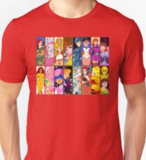 80s Girls Totally Radical Cartoon Spectacular!!! - WOMEN OF ACTION EDITION! T-Shirt