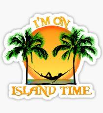 Island Time Sticker