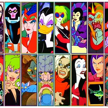 80s Girls Totally Radical Cartoon Spectacular!!! - BAD GIRLS EDITION! by atomicthumbs78