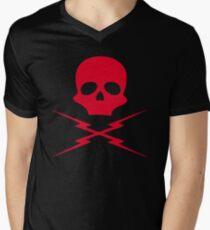 Death Proof, Red Label! Men's V-Neck T-Shirt