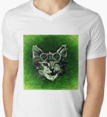 Cat Men's V-Neck T-Shirt