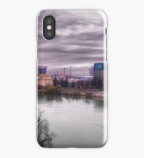 Drone Town (Shot with a UAV) iPhone Case/Skin