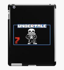 Sans undertale logo iPad Case/Skin