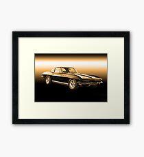 1965 Corvette Stingray Coupe Framed Print