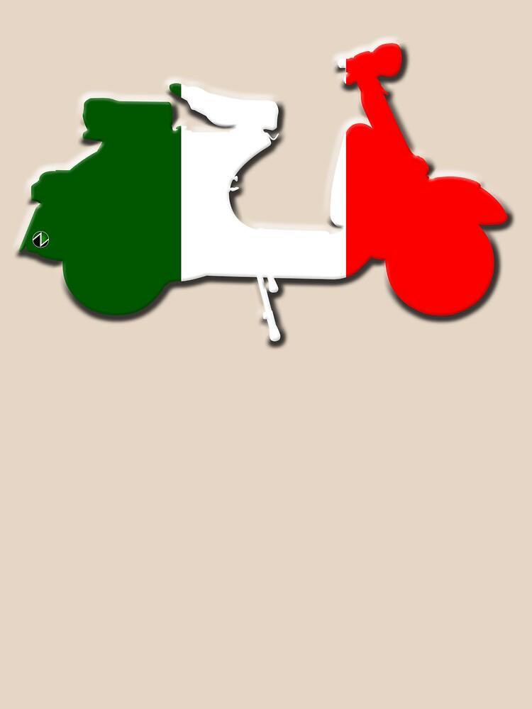 Vespa Italia by zaxart