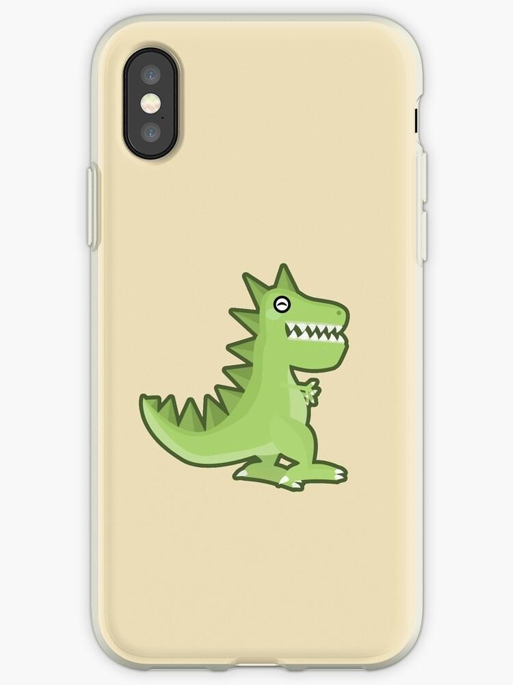 low priced 3ea6a cf36c 'Kawaii T-rex' iPhone Case by NirPerel