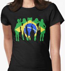 Brasileiras Women's Fitted T-Shirt