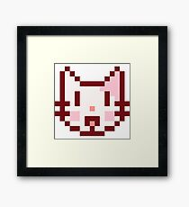 Catface! Framed Print