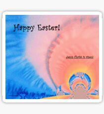 "Easter Card ""Resurrection"" Sticker"