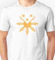 Pinoy Sun and Stars Filipino cote of arms design Unisex T-Shirt