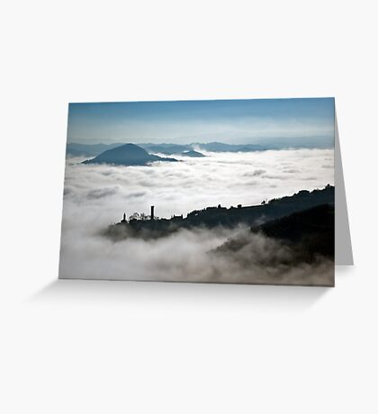 Denice in the mist Greeting Card