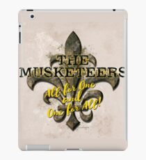 The Musketeers All For One and One For All! iPad Case/Skin