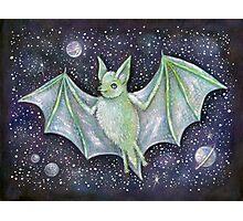 Space Bat  Photographic Print