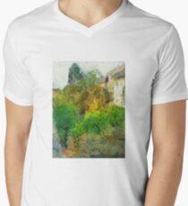 Trees in the neighborhood Men's V-Neck T-Shirt