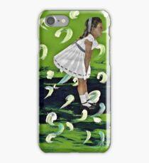 She Expels Art iPhone Case/Skin