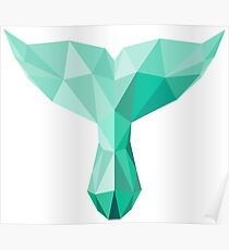 polygonal tail Poster