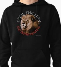 Cecil The Lion Pullover Hoodie