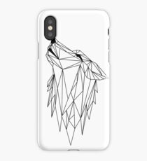 polygonal wolf  iPhone Case/Skin