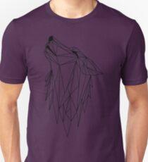 polygonal wolf  T-Shirt