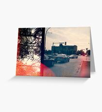 'Intersection'  Greeting Card