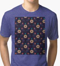Flower Garden. Floral Pattern Tri-blend T-Shirt