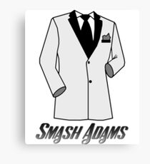 Smash Adams: Secret Agent Canvas Print