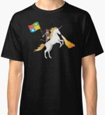 Ninja Cat Unicorn Classic T-Shirt