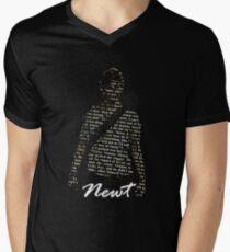 Camiseta para hombre de cuello en v Tritón