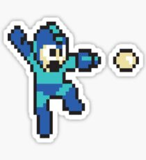 retro megaman Sticker