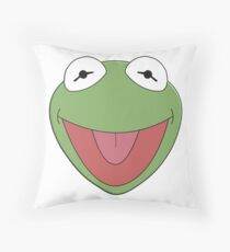 Kermit The Frog Throw Pillow