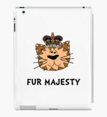 Fur Majesty iPad Case/Skin