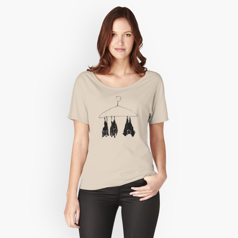 fruitbats in the closet Women's Relaxed Fit T-Shirt Front
