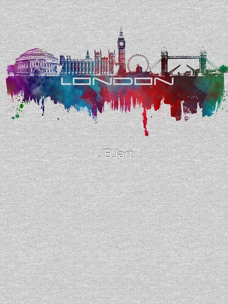 London skyline city blue  by JBJart