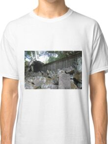 Fallen Building, Siem Reap, Cambodia Classic T-Shirt