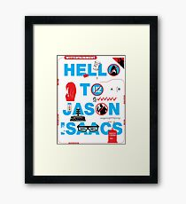 Wittertainment: 20 In-Jokes in one Graphic Framed Print