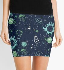 space race  Mini Skirt