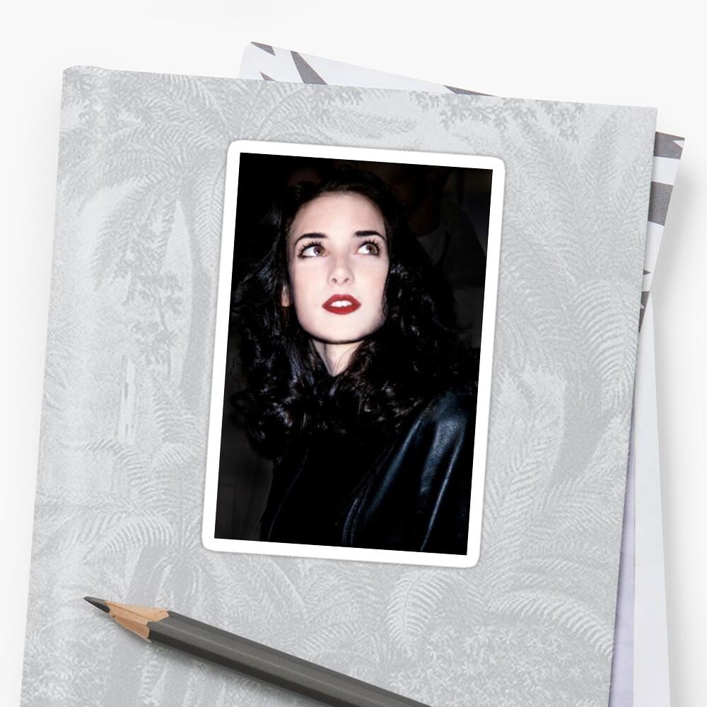 Winona Ryder Sticker by samandtia