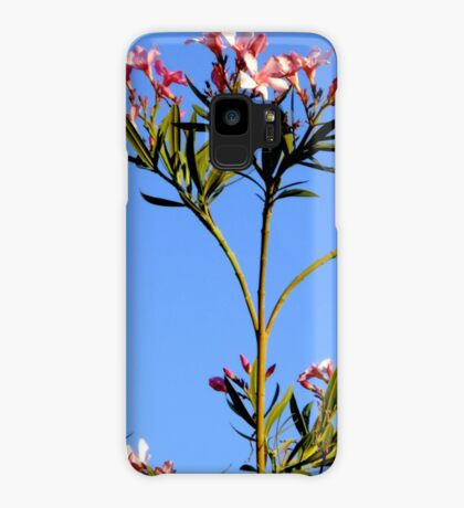 Pink Oleanders Case/Skin for Samsung Galaxy