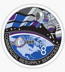CRS-8 NASA Logo Sticker