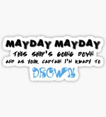 This Ship's Going Down Sticker