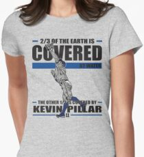 Kevin Pillar Womens Fitted T-Shirt