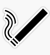 Cigarette Sticker