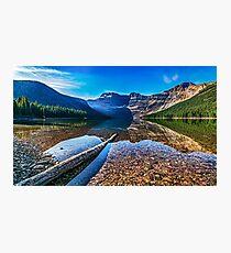 Cameron Lake - Waterton National Park Photographic Print