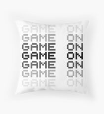 Video Game Game On PC Playstation XBox Gaming Gamers Throw Pillow