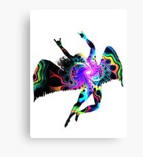 ICARUS THROWING THE HORNS - The 1960s white ***FAV ICARUS GONE? SEE BELOW*** Canvas Print