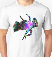ICARUS THROWING THE HORNS - The 1960s white ***FAV ICARUS GONE? SEE BELOW*** T-Shirt